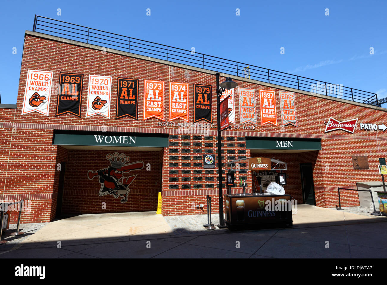 Maryland Athletic Hall Of Fame In Oriole Park Home Baltimore Orioles Baseball Team Camden Yards USA