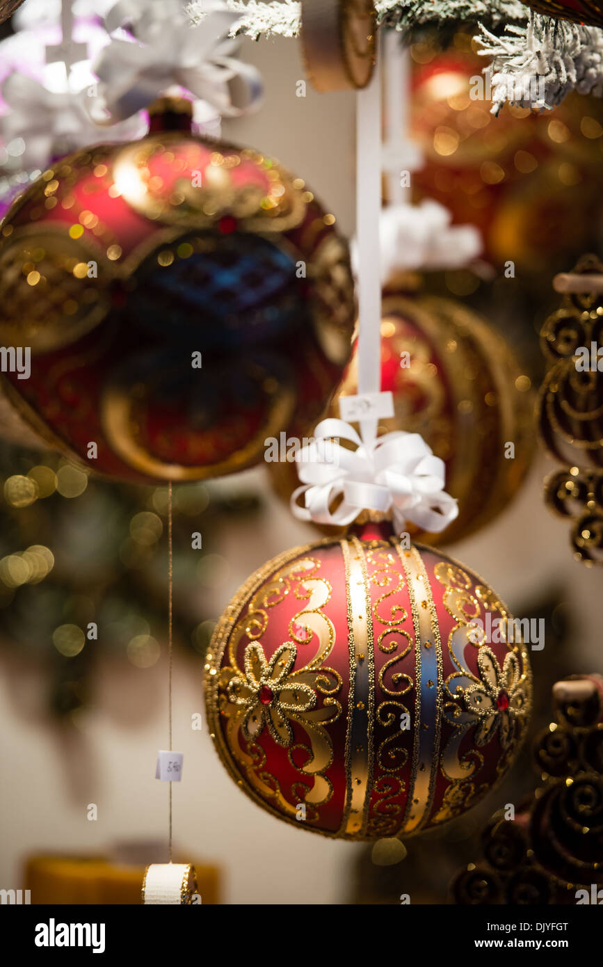 Christmas balls and decorations on sale during christmas for Christmas sale items
