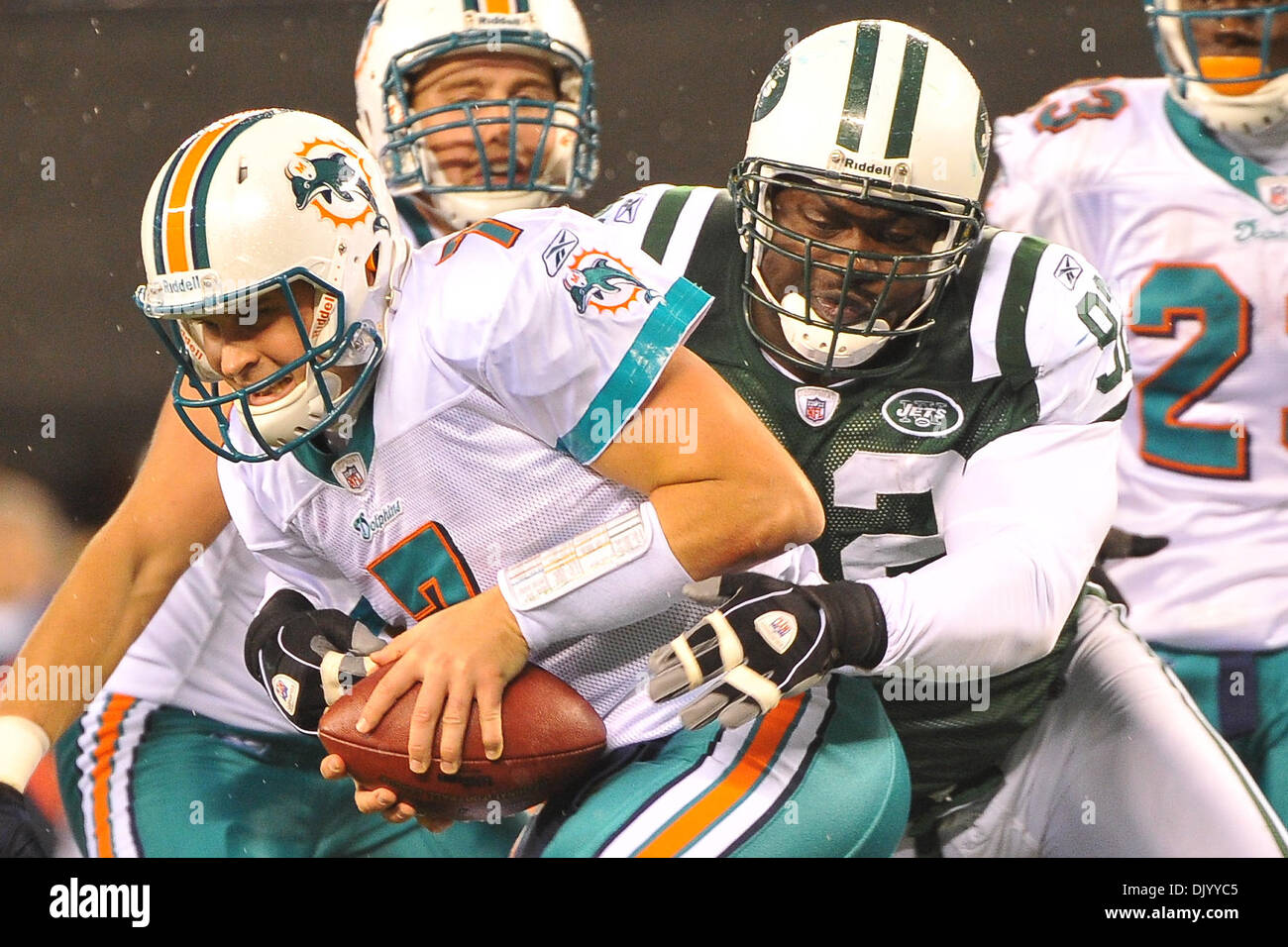 c5b42e191 ... 2010 - East Rutherford, New Jersey, United States of America - Miami  ... Chad Henne ...