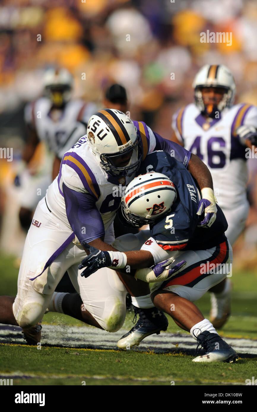 LSU Tigers defensive tackle Michael Brockers 90 tackles Auburn