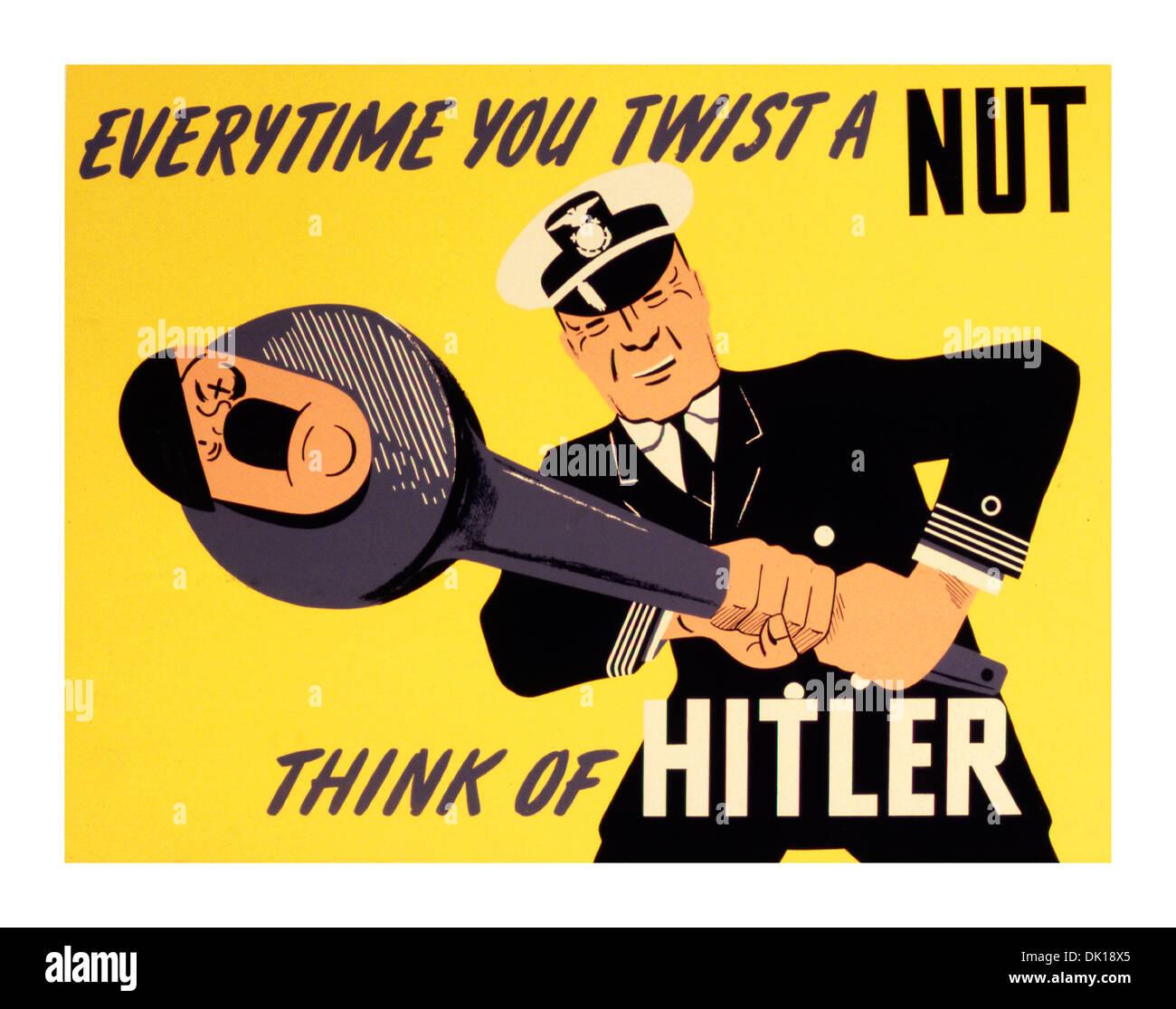 Humorous Ww2 Propaganda Poster For The Us Military War