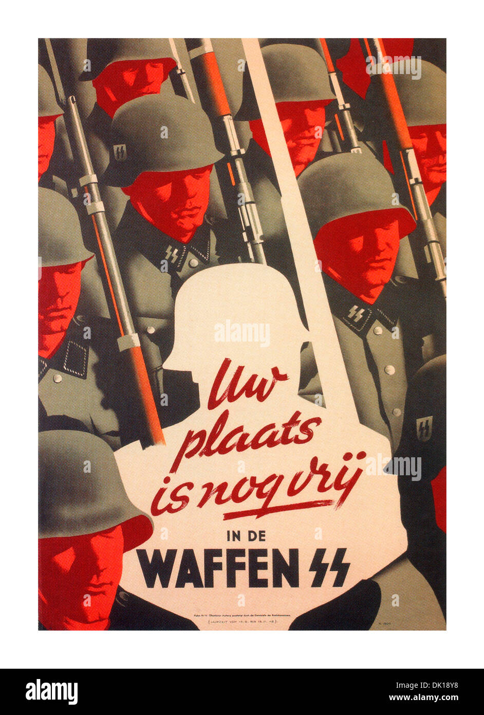 Poster design 1940 - 1940 S German Wartime Propaganda Recruitment Poster For The Waffen Ss Step In To This