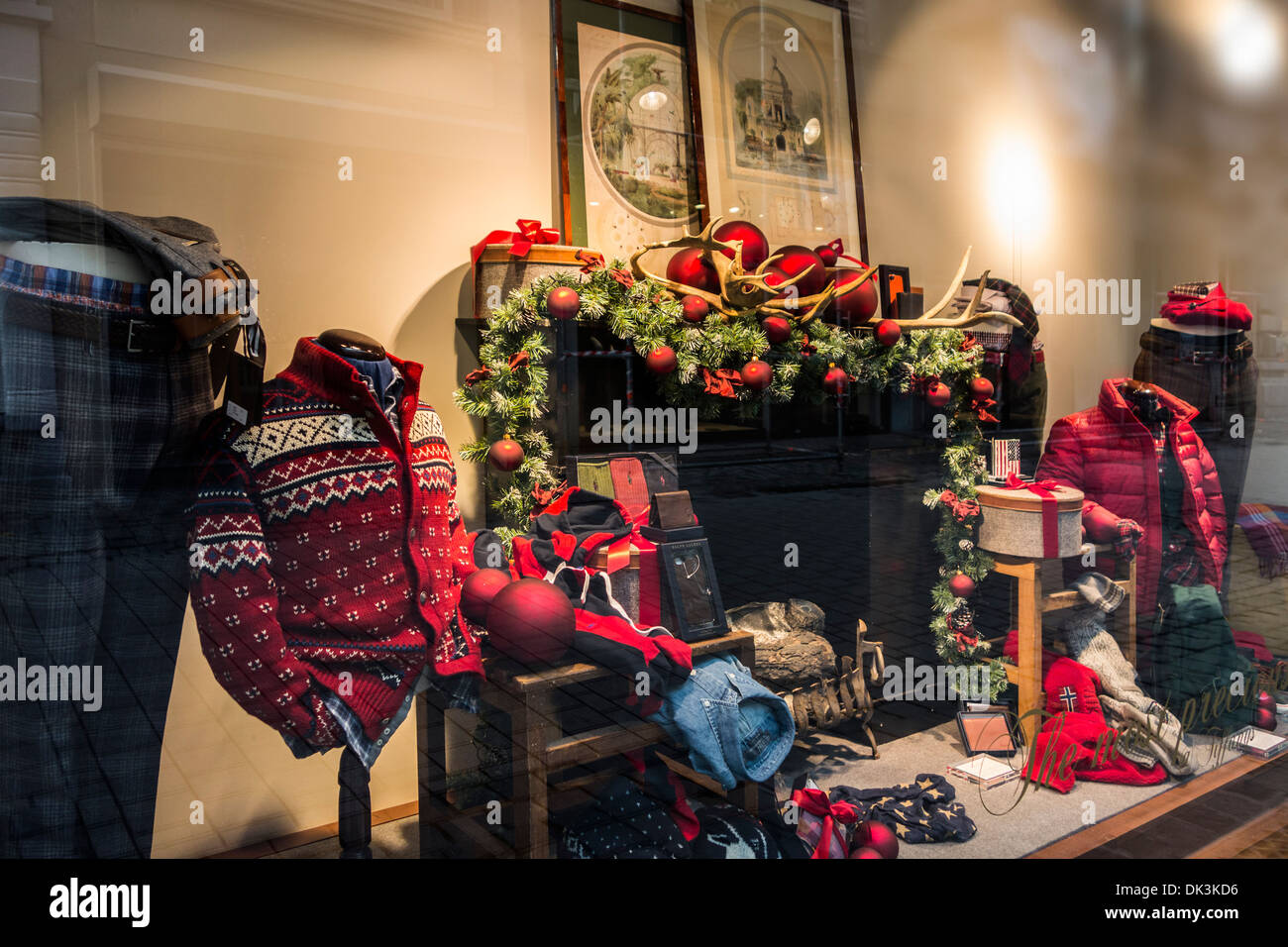 Christmas cloth store
