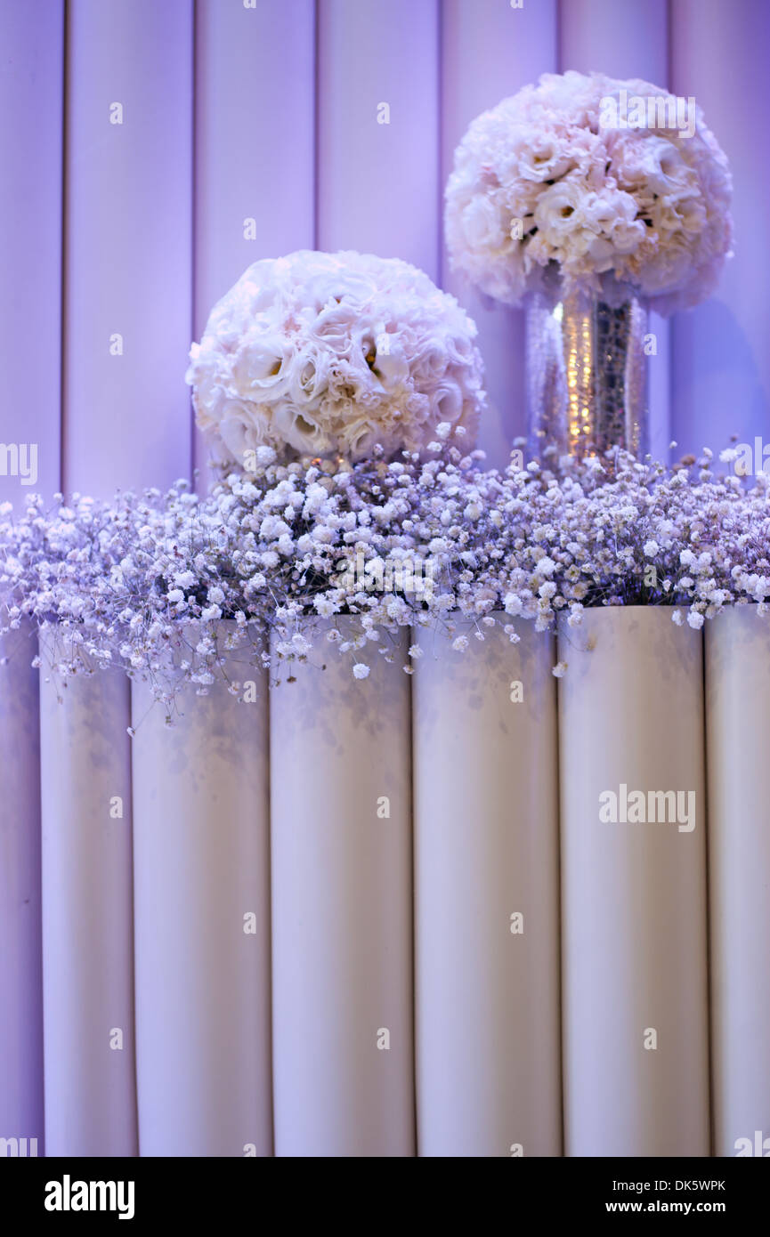 Wall vases for flowers - Flower Vase Flowers Bouquet Of White Flowers Bar Decoration Wall Hanging Vase Of Flowers Warm Lighting