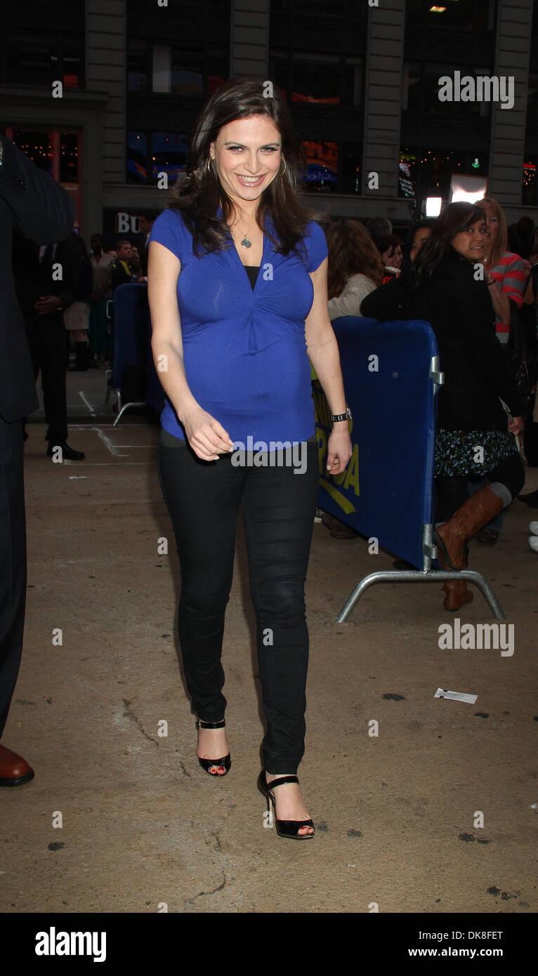 Pregnant Bianna Golodryga at ABC Studios for 'Good Morning America ...