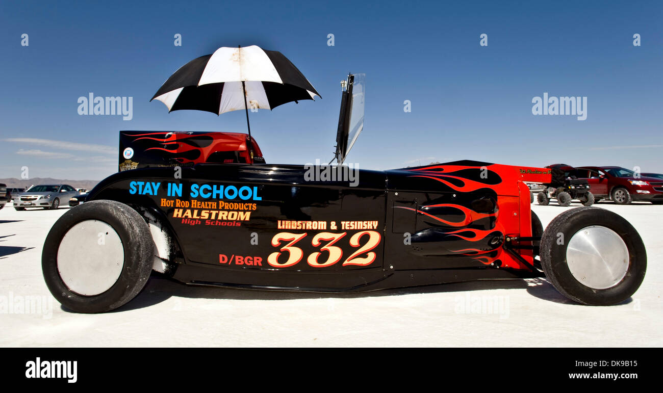 Aug Wendover Utah Usa Race Cars Are Queued Up In