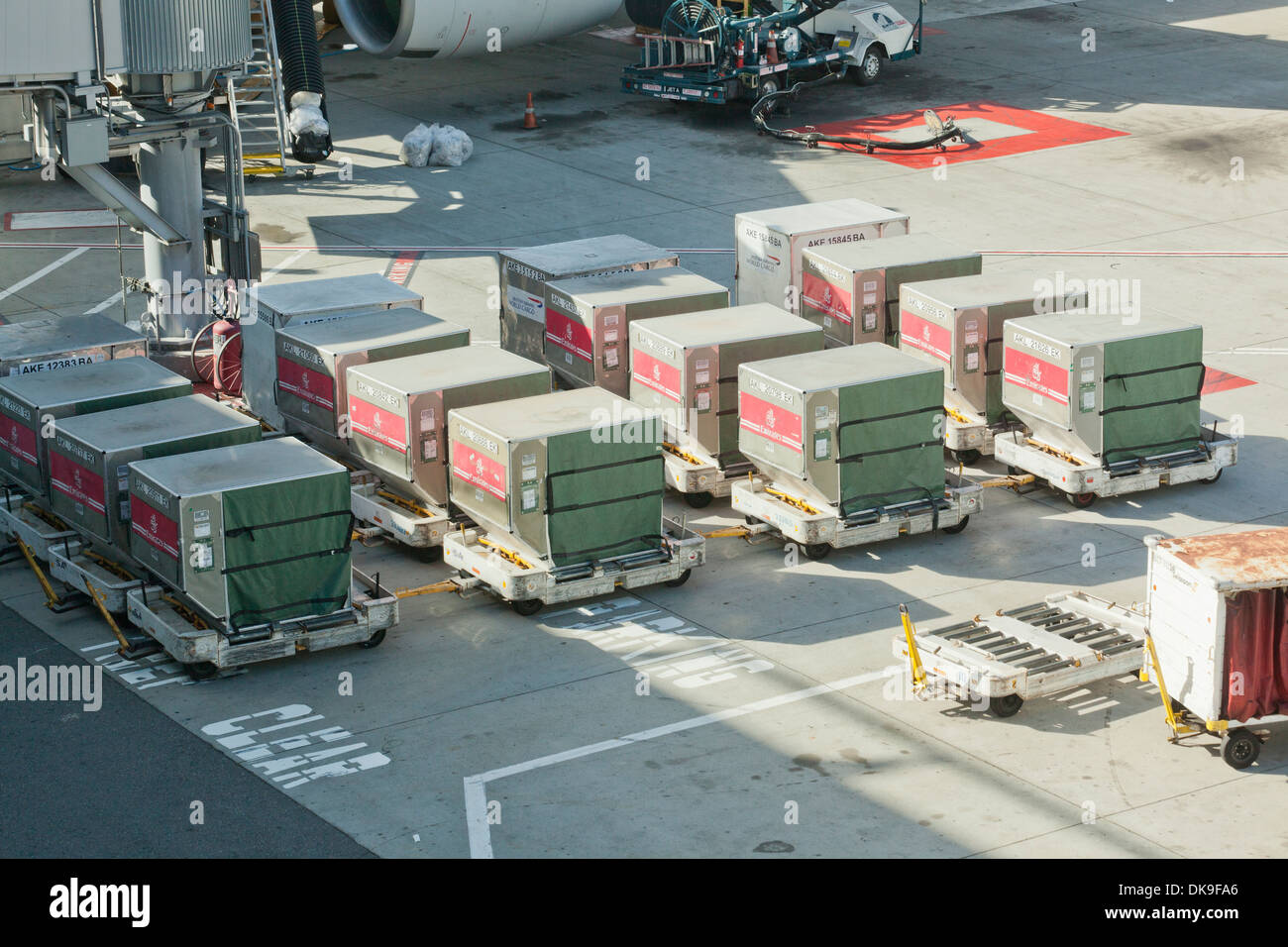 Commercial Airline Unit Load Device Uld Containers At