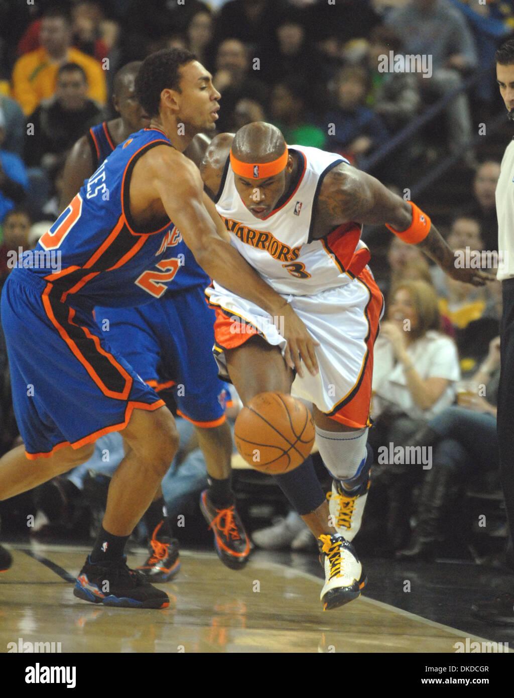Golden State Warriors Al Harrington and New York Knicks Jared