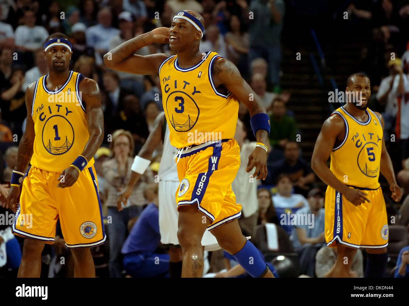 Mar 16 2007 Oakland CA U S A Golden State Warriors AL Stock