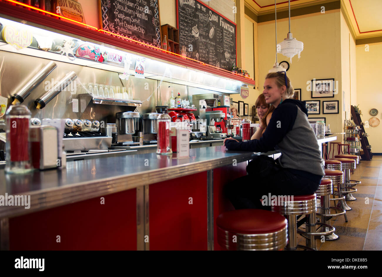 The Historic Woolworth S Soda Fountain In Asheville North