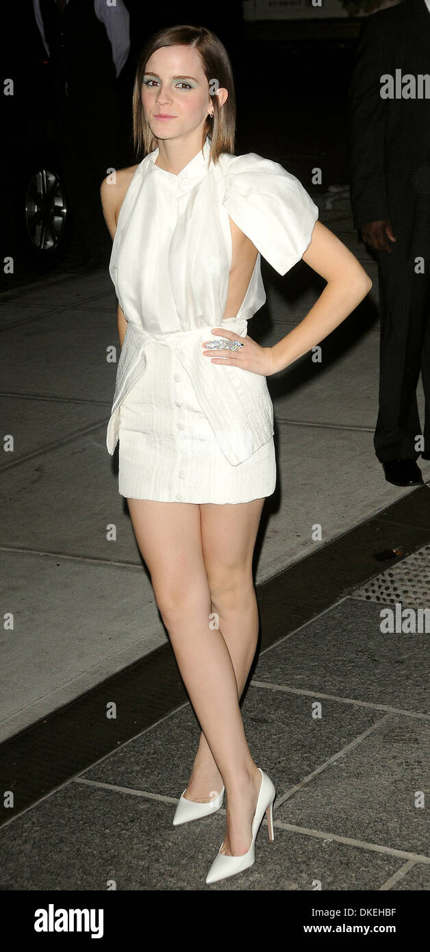 Emma Watson At New York Premiere Of 'the Perks Of Being A Wallflower'  Outside