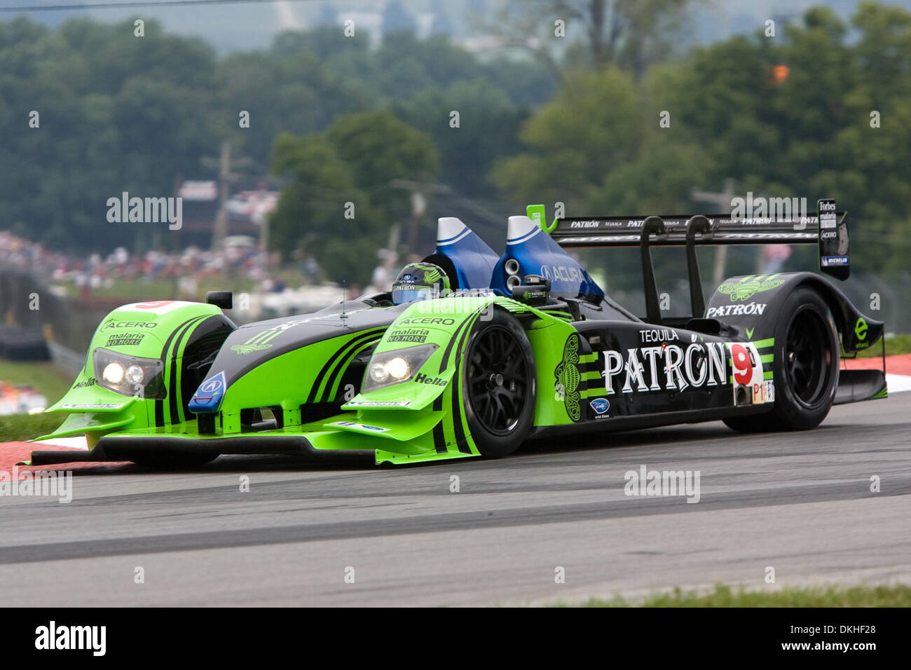 08 August 2009: The 9 Patron Highcroft Racing Car Driven By David Brabham  And Scott Sharp During Round 6 Of The American LeMans Series Acura Sports  Car ...