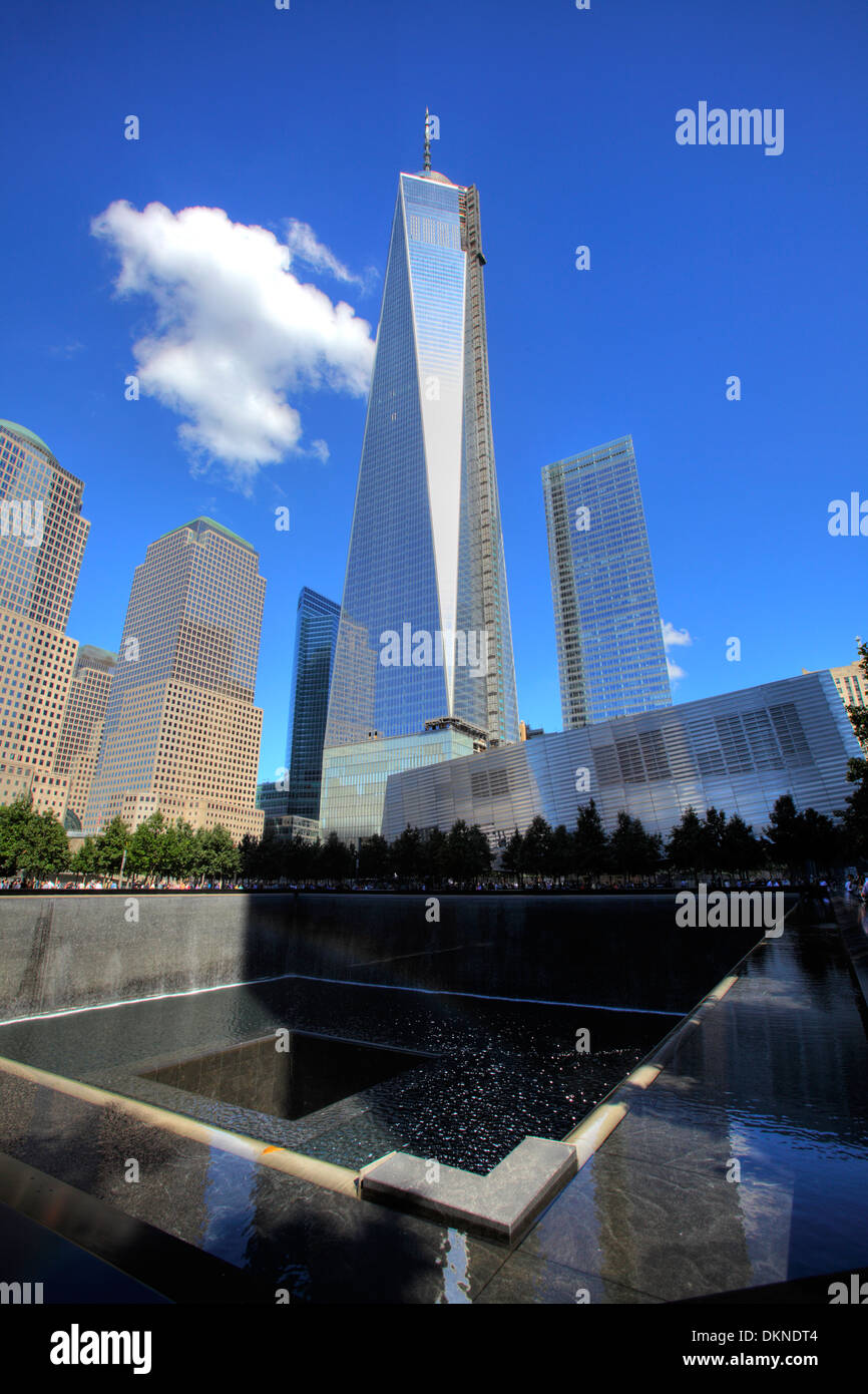 September 11 Memorial and Freedom Tower, New York City ...