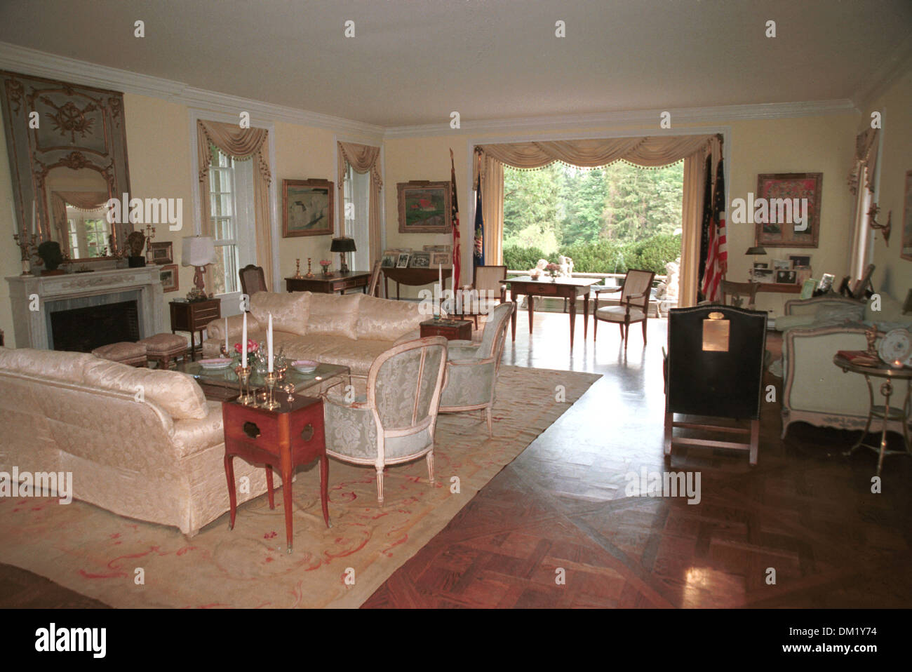 Living Room Robert Kennedy Home Hickory Hill McLean Virginia