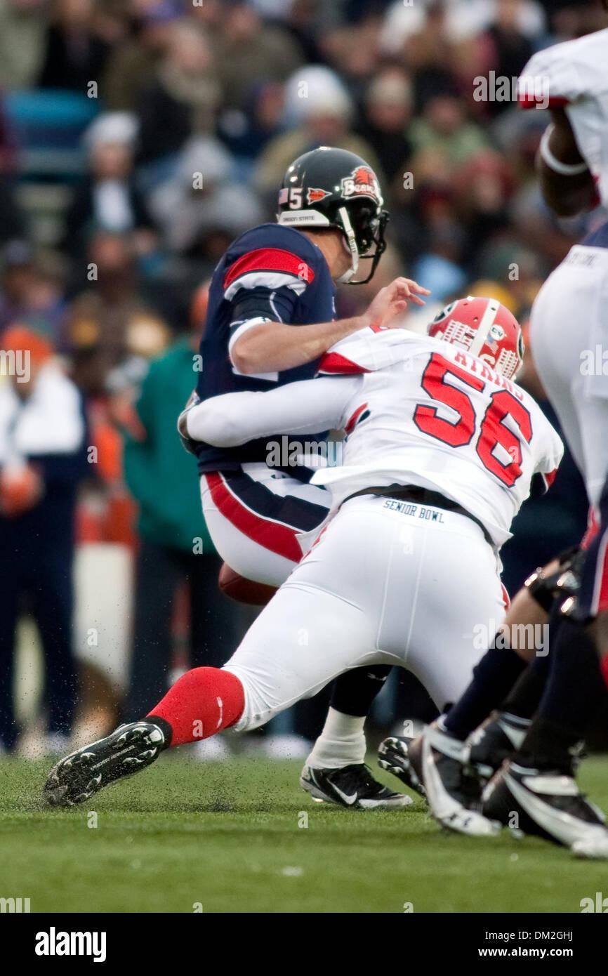 Under Armour Senior Bowl Georgia defensive lineman Geno Atkins