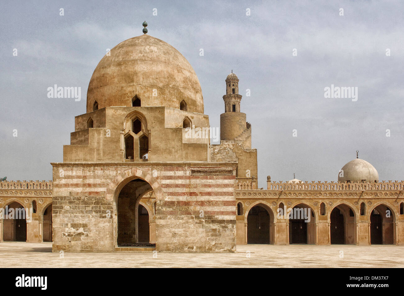 Middle East, Egypt, Cairo, Mosque Ibn Touloun, mosque ...