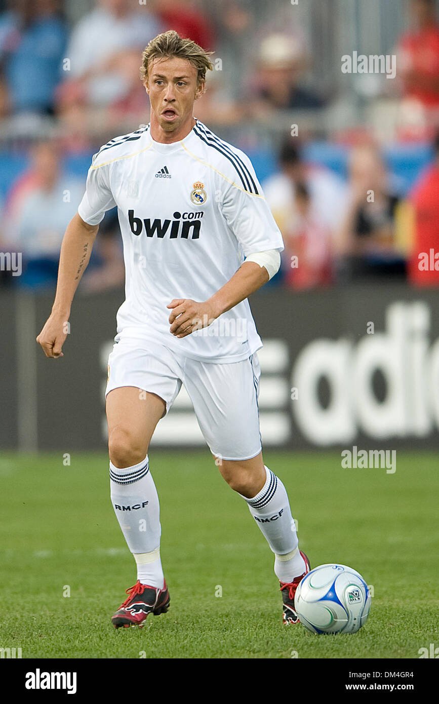 Real Madrid midfielder Jose Maria Guti 14 in action at BMO Field