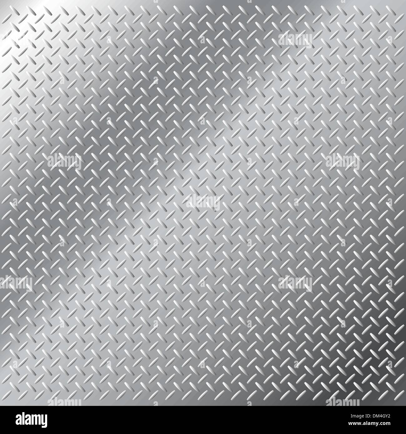 Stainless Steel Diamond Hatch Pattern Vector Metal