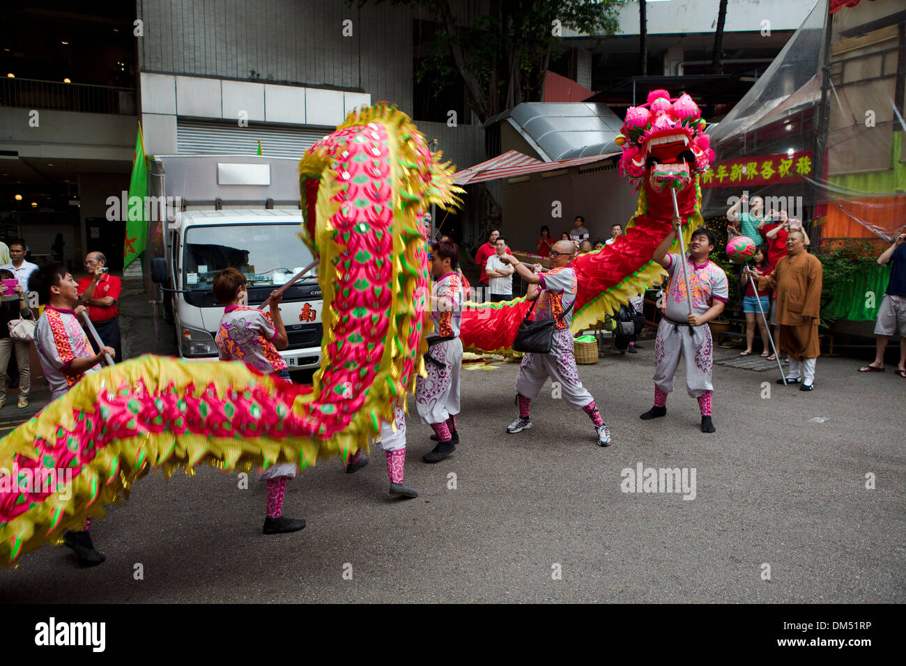 Chinese New Year Dragon Dance - Bing images