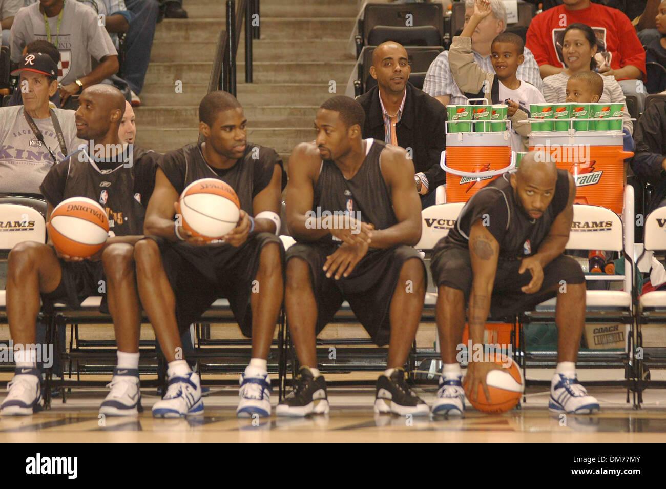 Oct 08 2005 Richmond VA USA Washington Wizards players