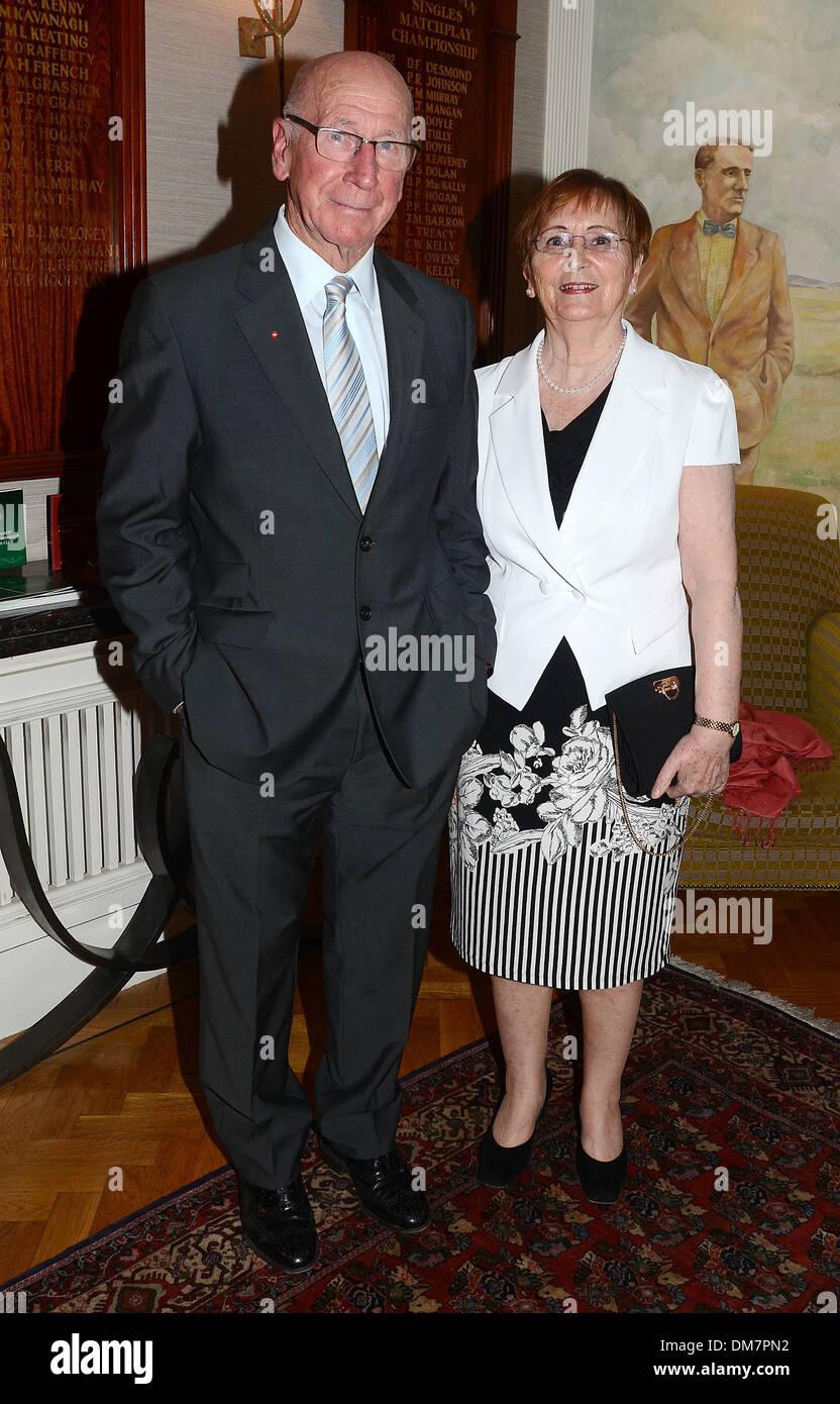 Sir Bobby Charlton Lady Norma Charlton at 13th Marie Keating Stock