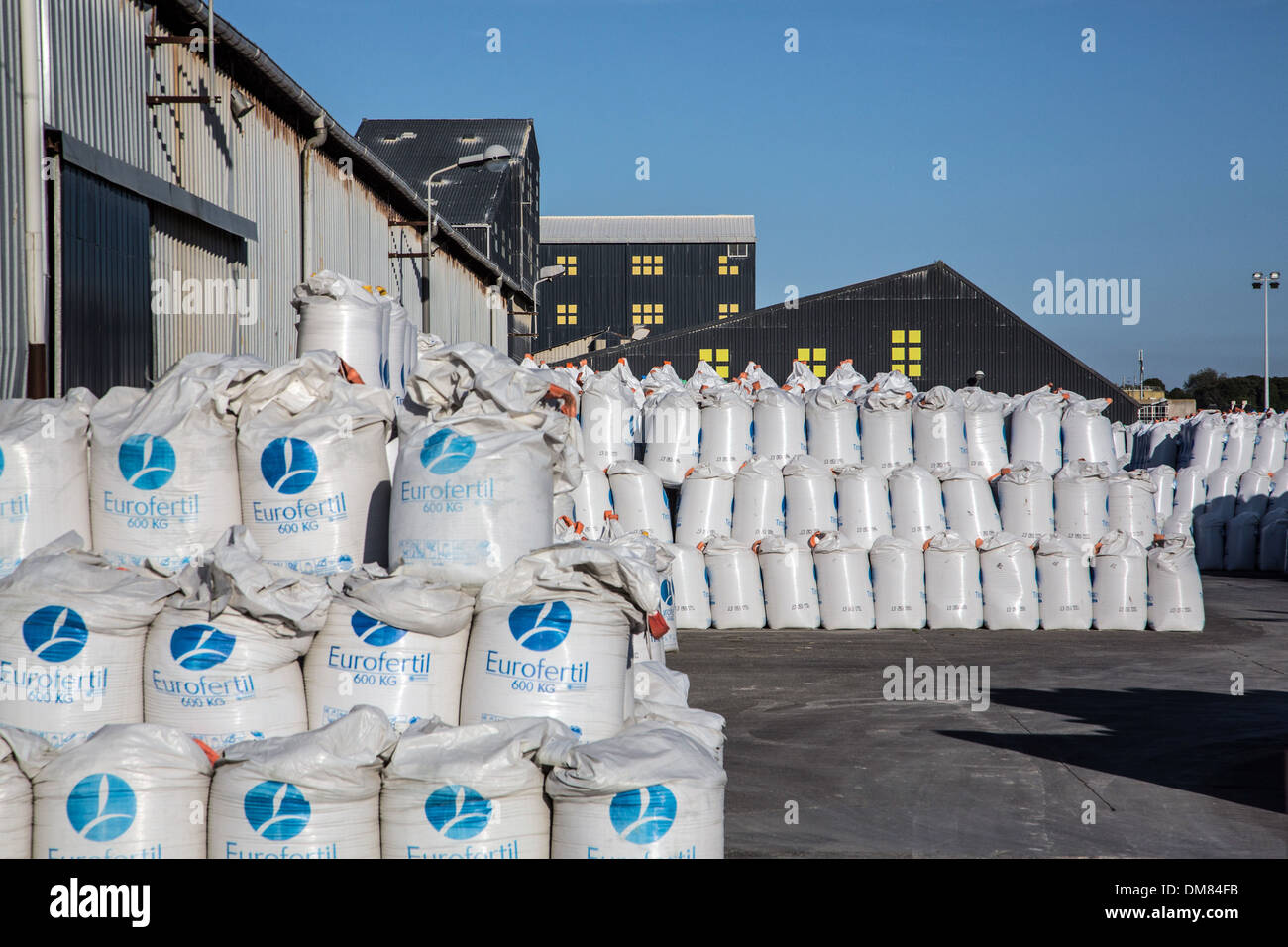 Chemical Fertilizer Factory And Warehouse Commercial Port