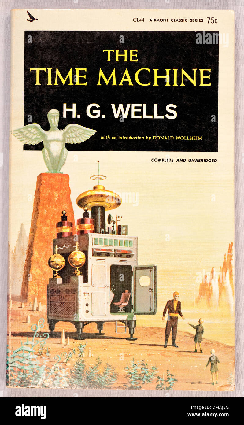 An analysis of the book the time machine by hg wells