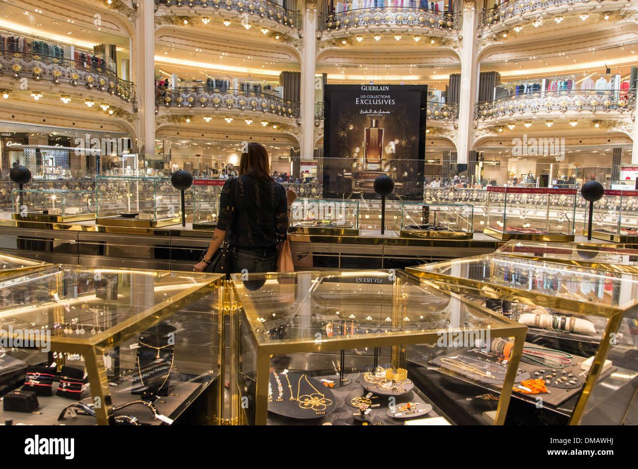 designer parfums ltd 57av  LUXURY GOODS AND DESIGNER PERFUMES BOUTIQUES AT GALERIES LAFAYETTE,  DEPARTMENT STORES, PARIS 75