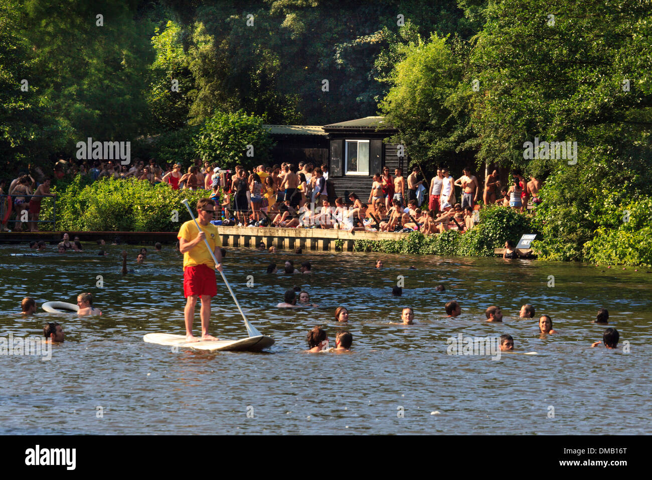 Hampstead Ponds Mixed London Stock Photo 64166672 Alamy