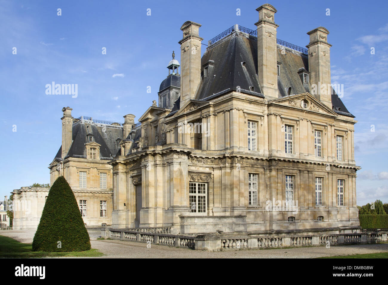 France, Yvelines, Maisons Laffitte, Chateau de Maisons, castle ...