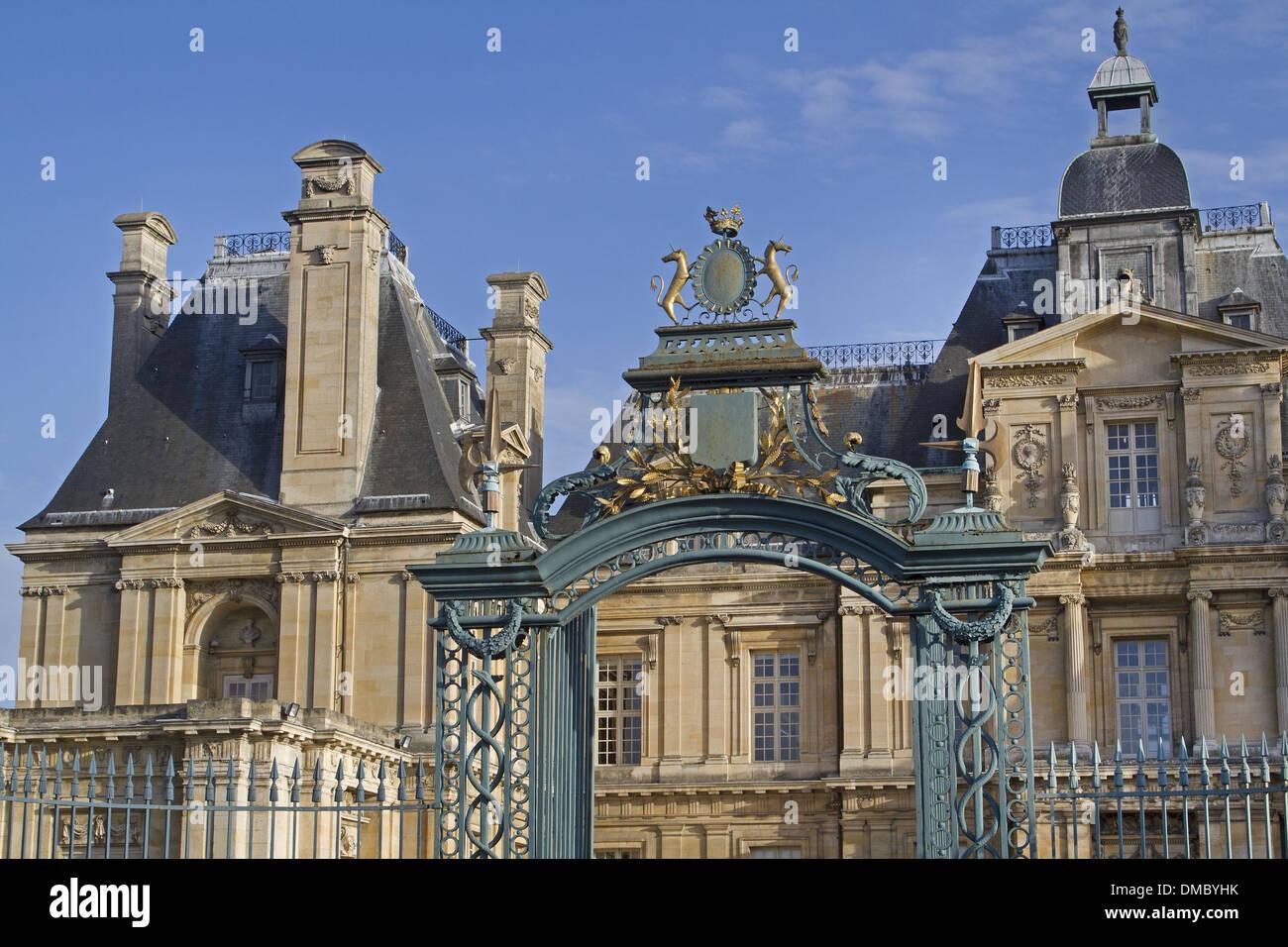 France Yvelines Maisons Laffitte Castle Stock Photos &amp- France ...
