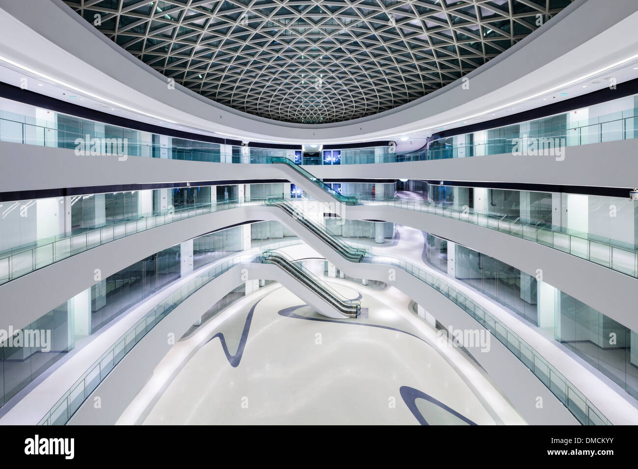 The Zaha Hadid Designed Galaxy Soho Retail And Office