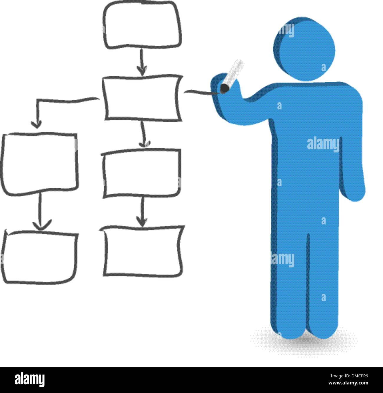 Person figure drawing empty flow chart stock vector art person figure drawing empty flow chart nvjuhfo Gallery