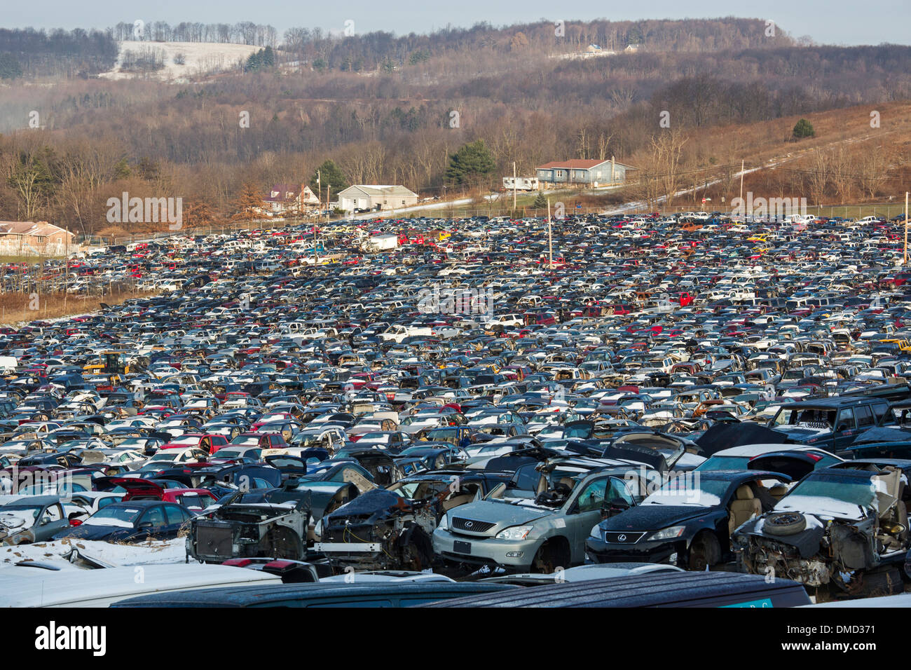 Stoystown Pennsylvania The 50 Acre Auto Junkyard