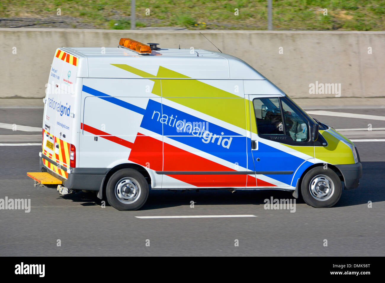 National grid uk stock photos national grid uk stock images alamy ford transit van operated by the national grid driving along motorway stock image biocorpaavc Image collections