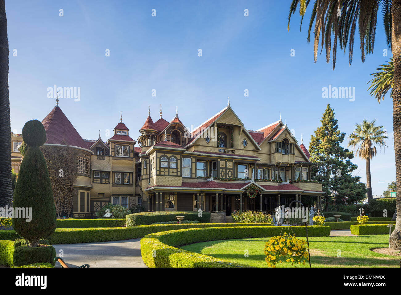 winchester mystery house san jose ca stock photo royalty free