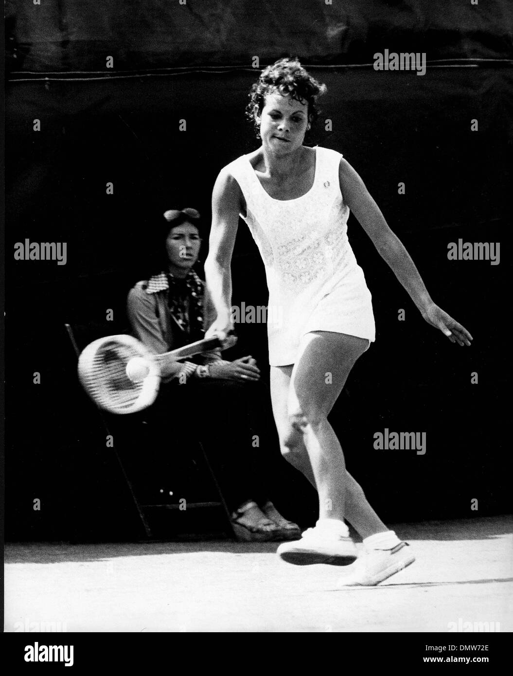 Sep 8 1974 London England U K EVONNE GOOLAGONG CAWLEY