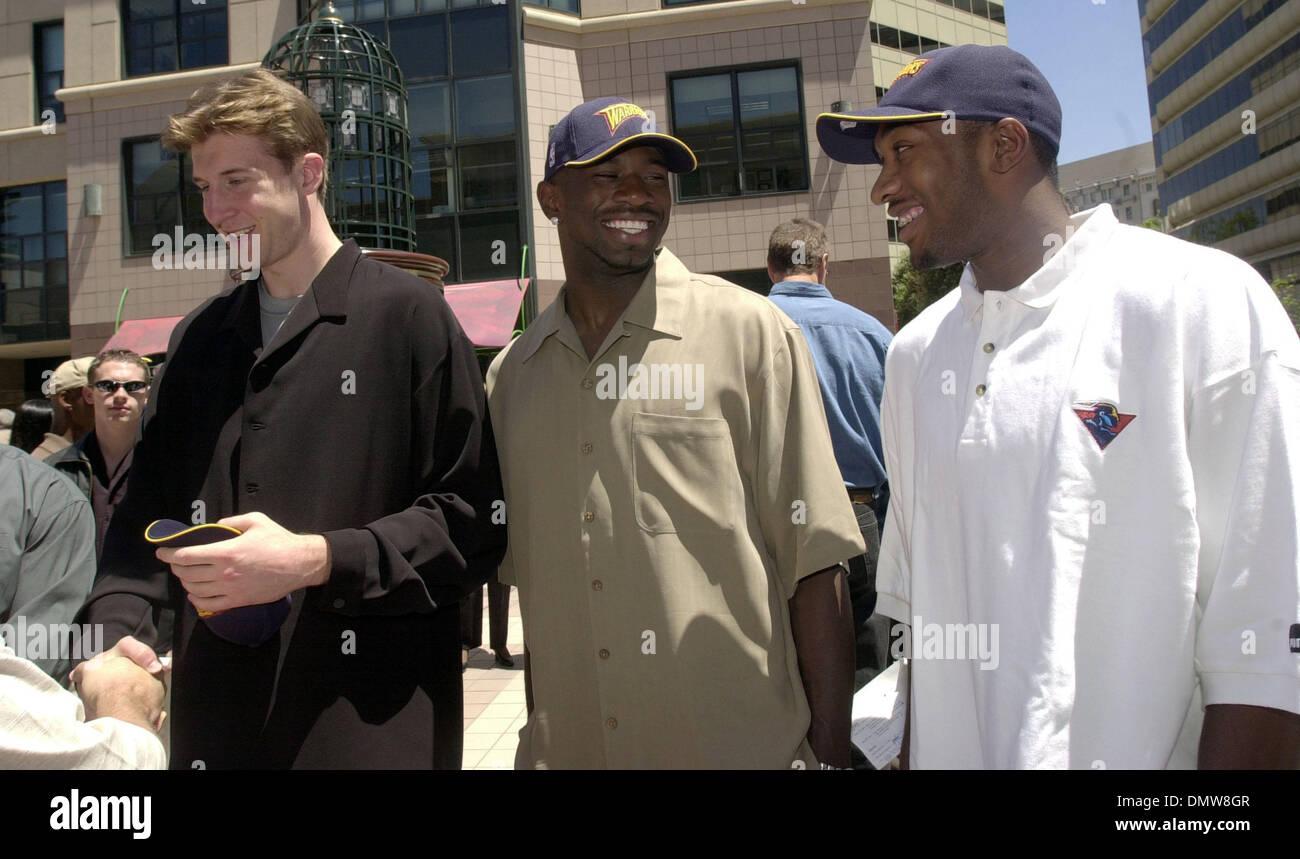 Jun 28 2001 Oakland CA USA New Warriors Troy Murphy Jason