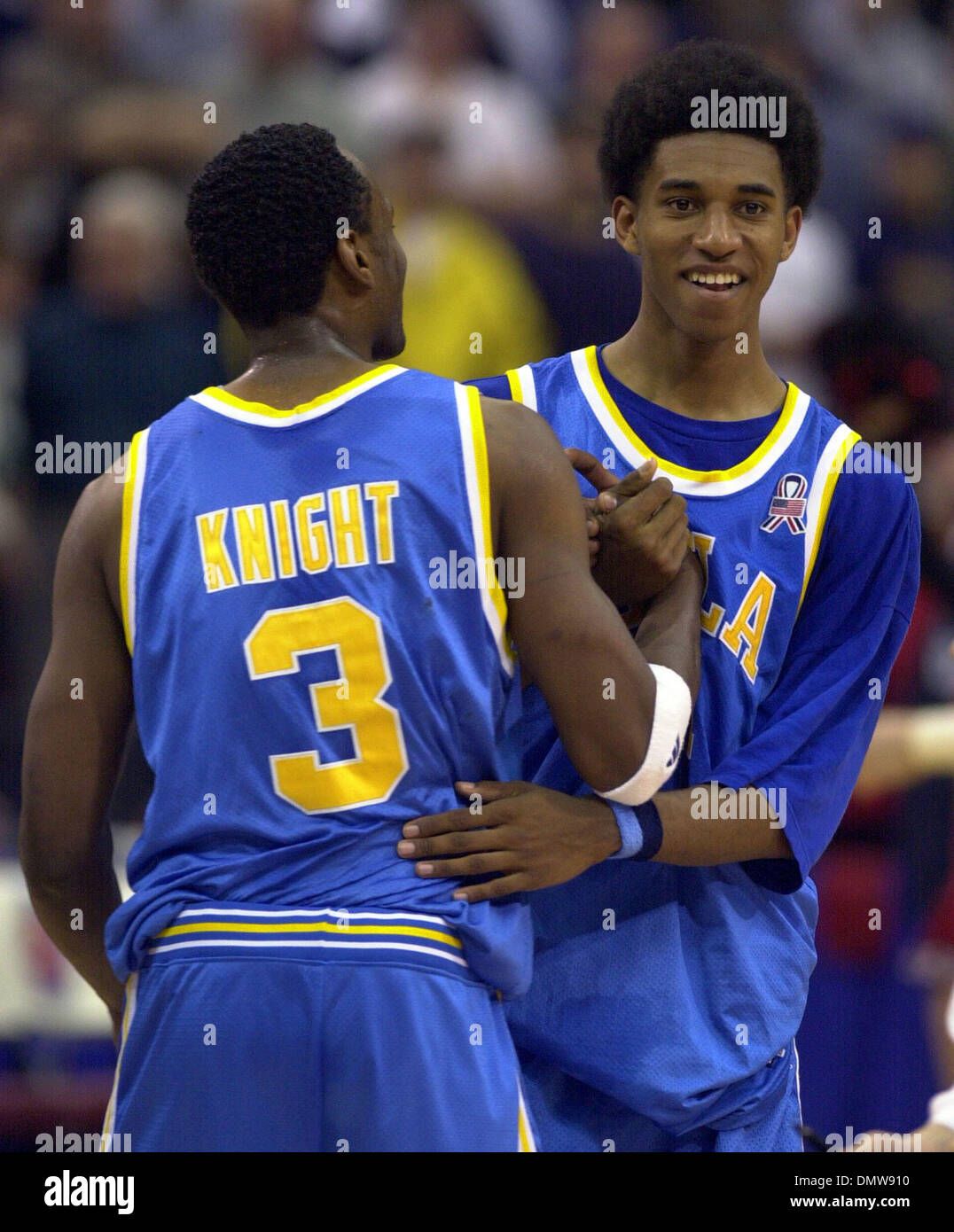 Mar 17 2002 PIttsburgh PA USA UCLA s Billy Knight 3 Stock