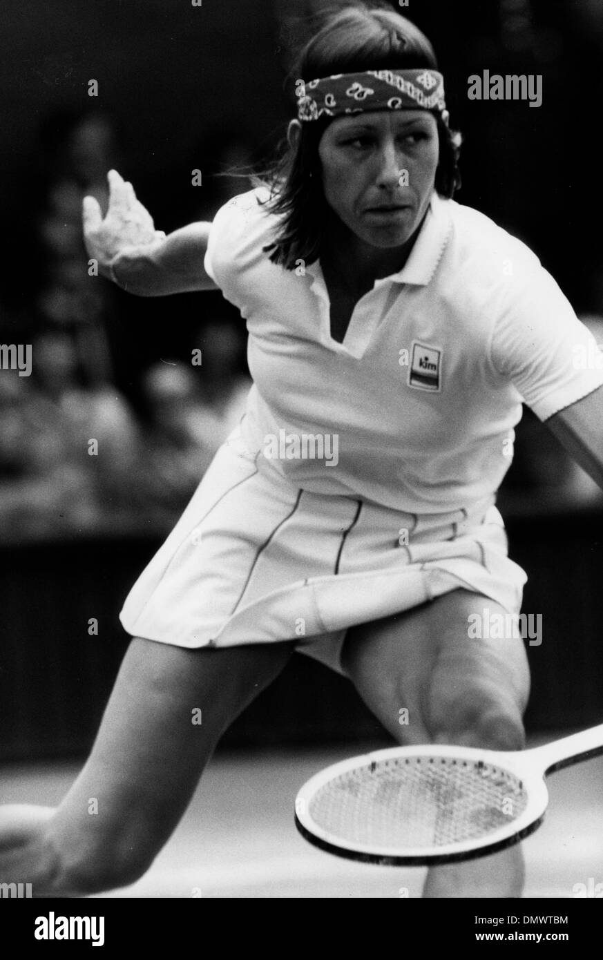 june 29 1981 london england uk tennis star martina navratilova seen