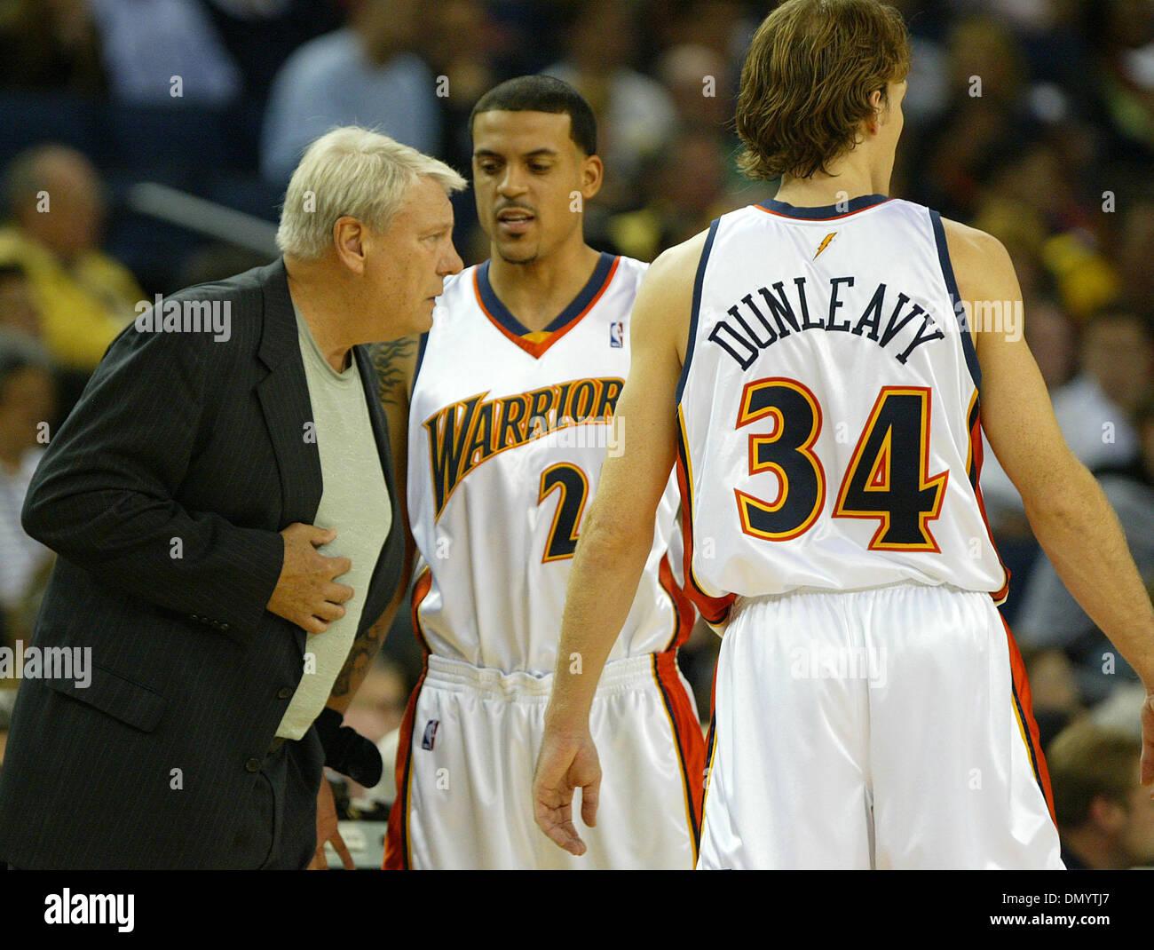 Nov 16 2006 Oakland CA USA Warriors head coach Don Nelson