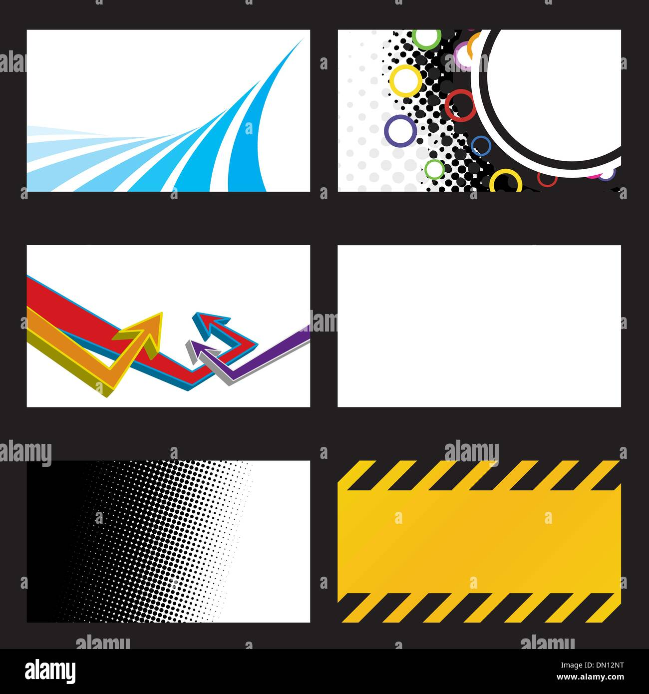 Vector Business Cards Stock Vector Art & Illustration, Vector ...