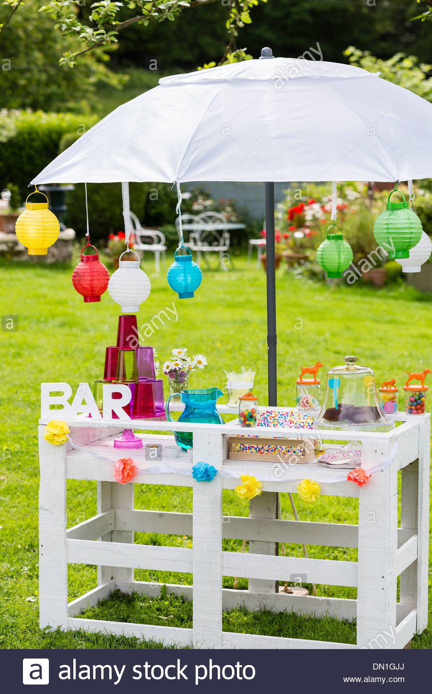 Summer garden bar for kids & Summer garden bar for kids Stock Photo Royalty Free Image ...