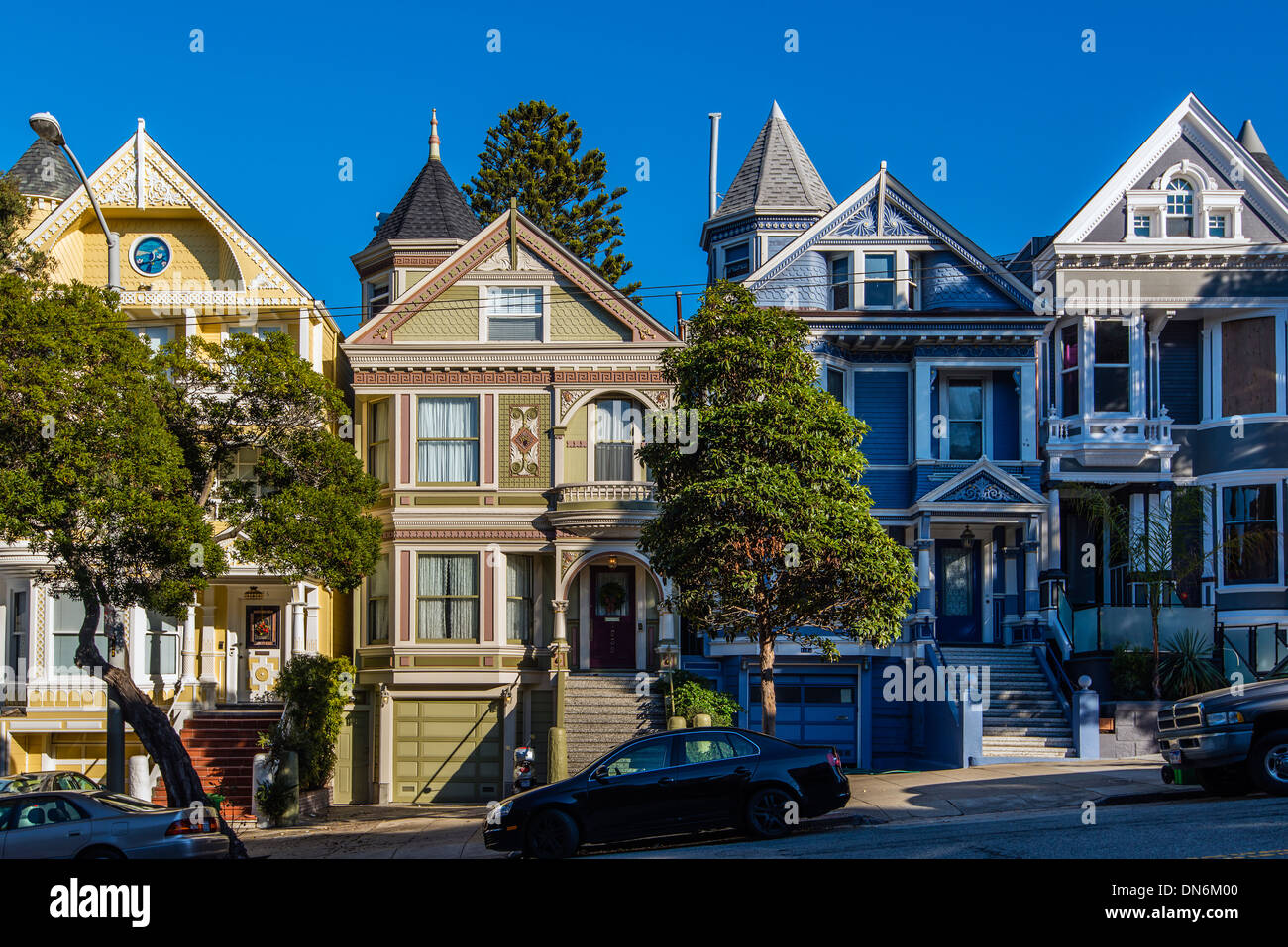 victorian style houses in san francisco california usa - Victorian Style House