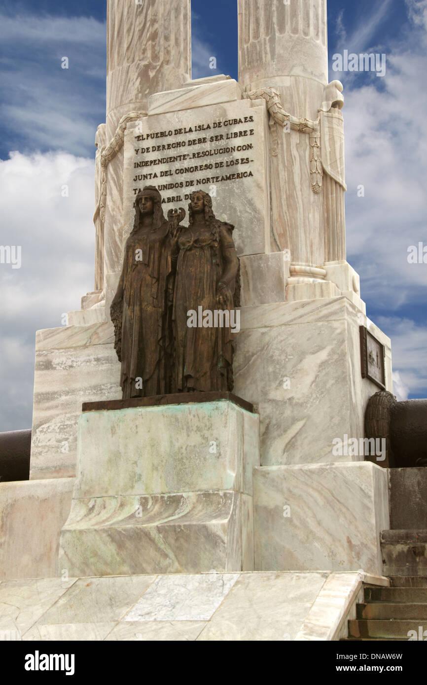 Monumento a las v ctimas del maine vedado havana cuba caribbean sea central america