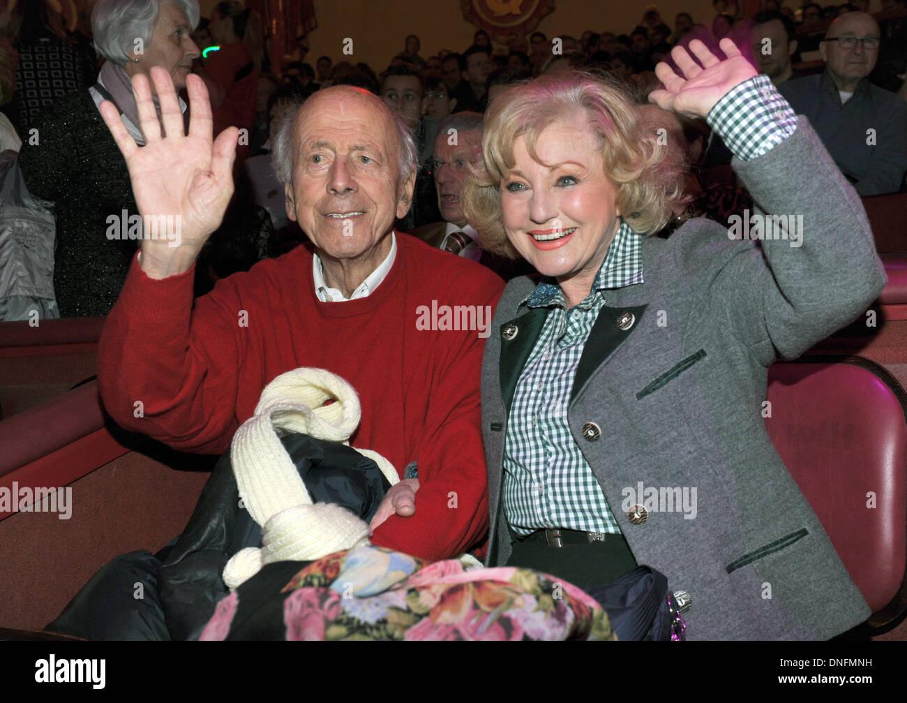 foto de Singer Margot Hellwig and her husband Arthur Lindermayr