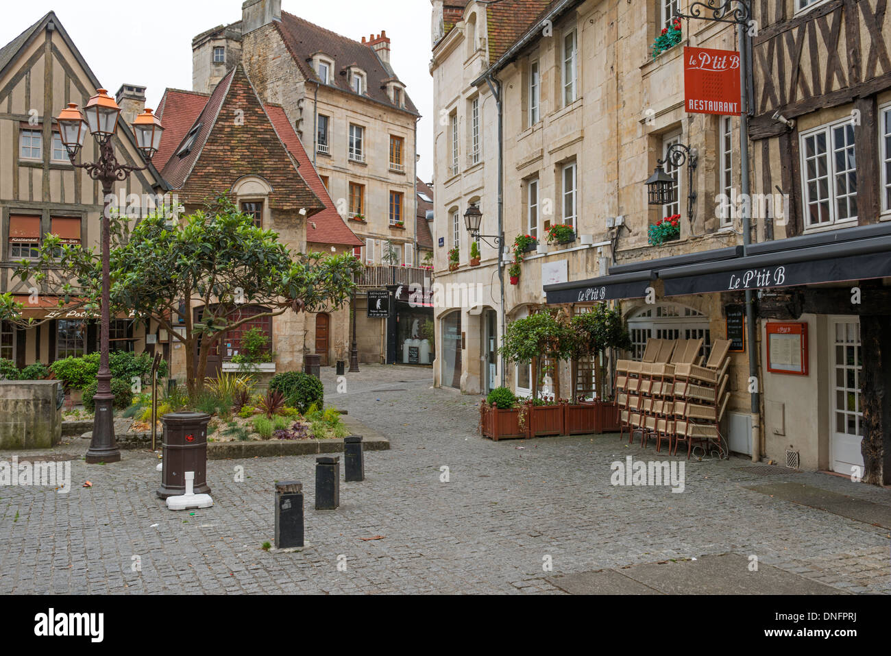 old quarter of caen in the calvados 14 departement of france very stock photo royalty free. Black Bedroom Furniture Sets. Home Design Ideas