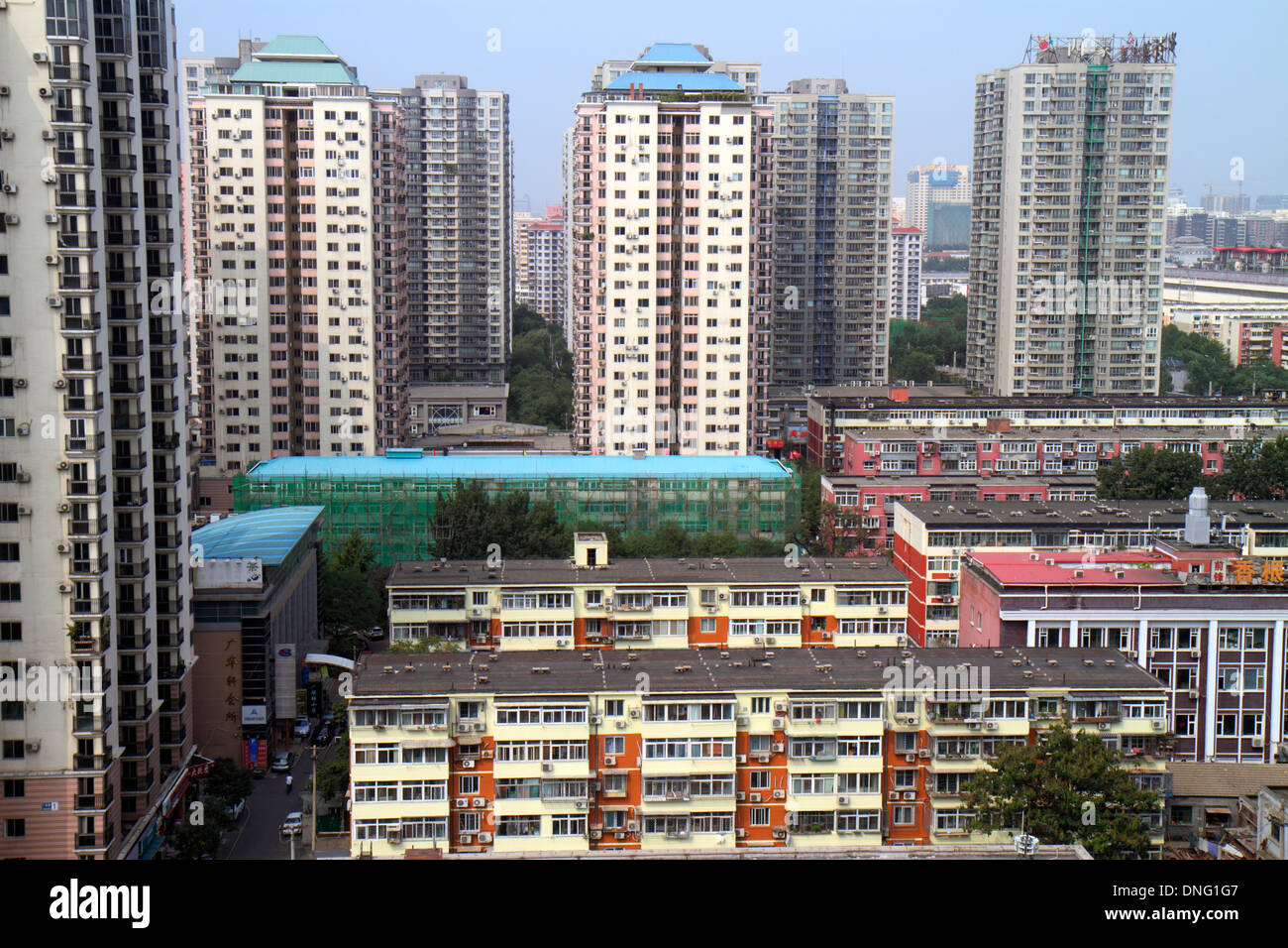 City Apartment Buildings beijing china xicheng district apartment buildings city skyline
