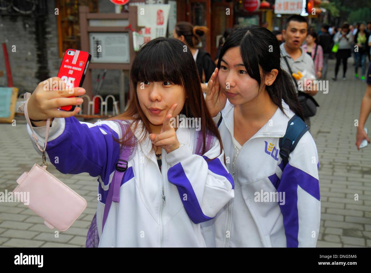 Beijing China Dongcheng District Nanluoguxiang hutong