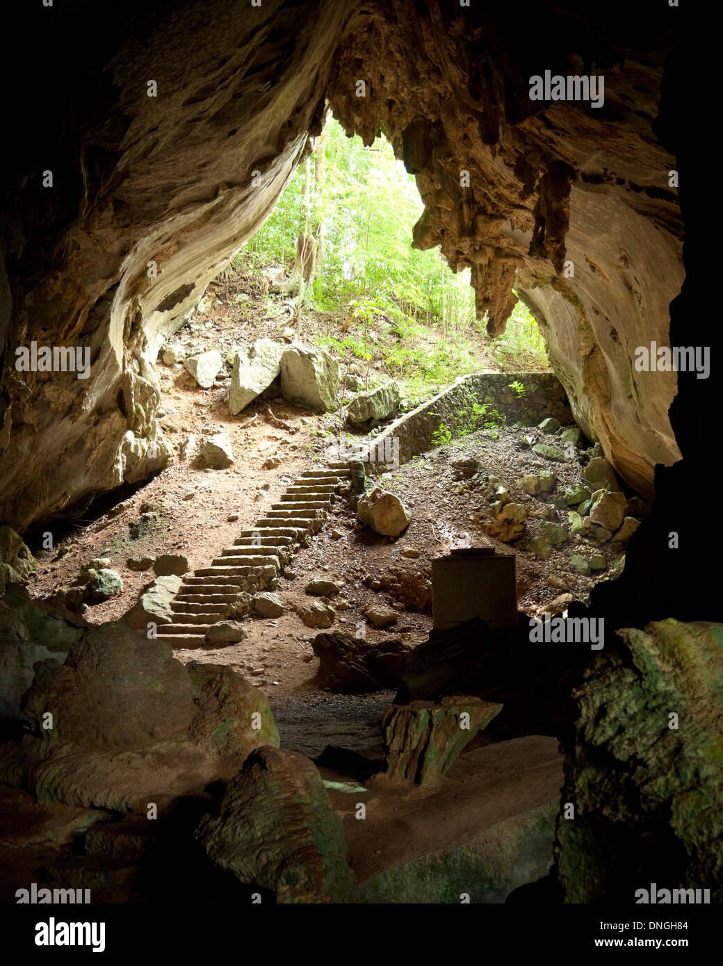cueva de los portales in cuba stock photo royalty free image 64903668 alamy. Black Bedroom Furniture Sets. Home Design Ideas